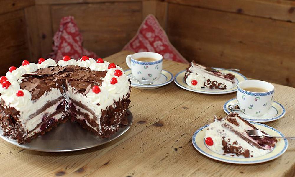 Die Renchtalhutte Kaffee Kuchen